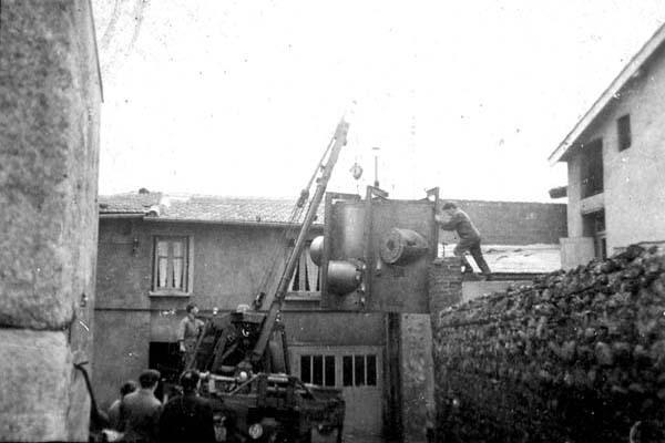Lafond Pere et Fils Rive de Gier Loire Construction mecanique chaudronnerie