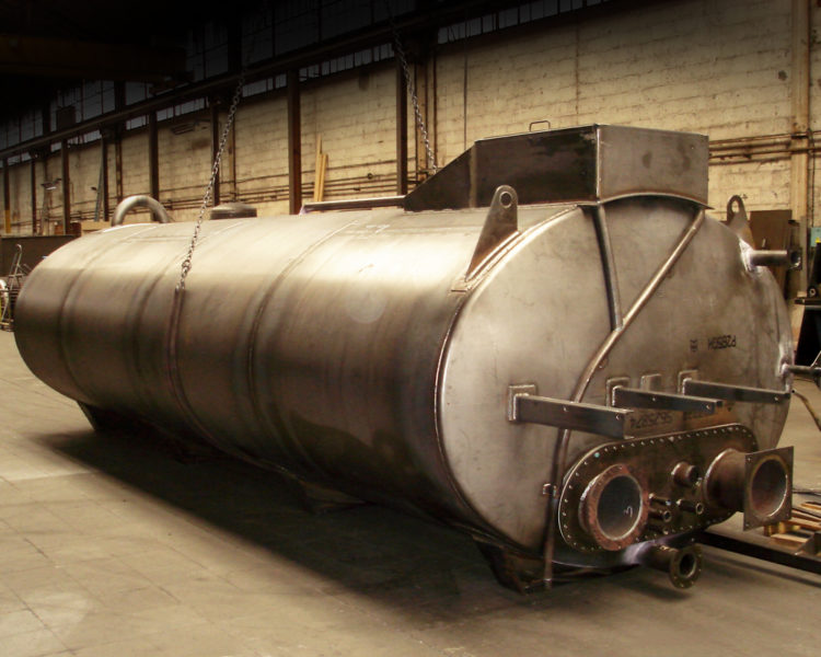 Lafond Pere et Fils Rive de Gier Loire Chaudronnerie Cuve de 18 000 litres