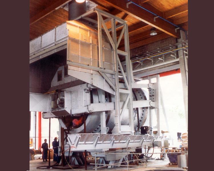 Lafond Pere et Fils Rive de Gier Loire Construction mecanique Four rotatif