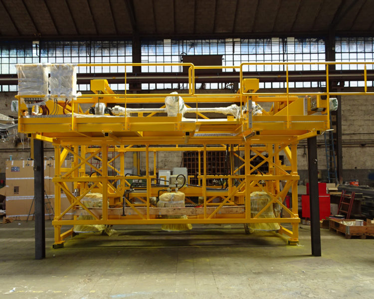 Lafond Pere et Fils Rive de Gier Loire Construction mecanique Structure de traitement